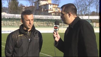 ВИДЕО: Изказването на Петър Пенчев след мача с Лудогорец