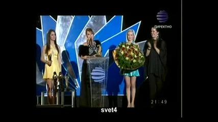 Изпълнител на Десетилетието Ивана Музикални Награди Телевизия Планета