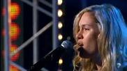 Блестящо изпълнение на песен на Адел! Reigan Derry - Someone Like You