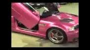 Розово Бмв М3