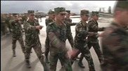 Syria: Farewell ceremony at Hmeymim airbase attended by Dep. DefMin Pankov