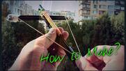 Как се прави Арбалет от моливи?