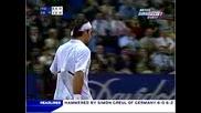 Roger Federer - Forehand Get, Backhand Pass