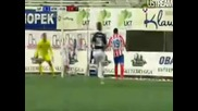 Stromsgodset 0-2 Atletico Madrid (europa League) 04.08.2011