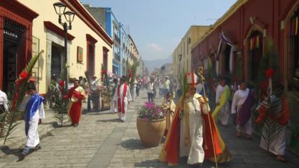 Великденска меса в Мексико (