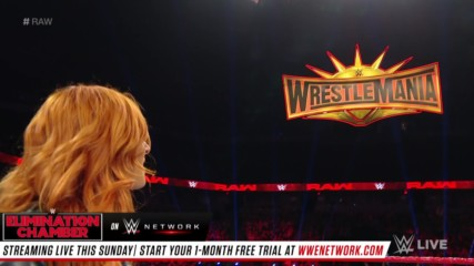 Becky Lynch is cleared to face Ronda Rousey at WrestleMania: Raw, Feb. 11, 2019