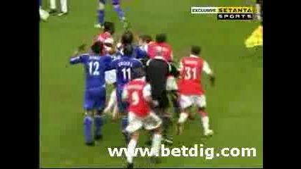 Бой между Арсенал и Челси