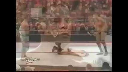 Fu-rko! Double Finisher! Nearly Killing Move On Chris Jericho!