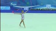 Мария Матева - лента - Световна купа Казан 2015
