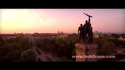 Заснемане с дрон: Паметникът на Съветската армия - 9ти май