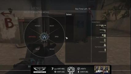 CS:GO School със spyleader CT de_mirage