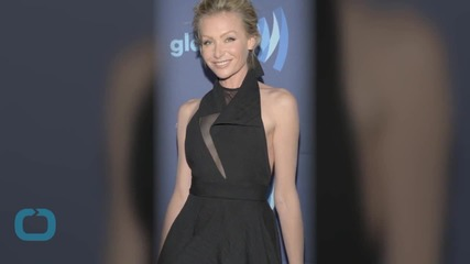 Portia De Rossi, Wearing Sexy Gown, and Ellen DeGeneres Show Sweet PDA at GLAAD Awards