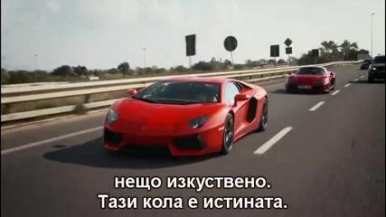Top Gear - Lamborghini Aventador, Mclaren Mp4-12c, Noble M600