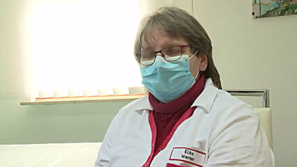 Germany: Locals receive COVID jabs at doctors' practices in Brandenburg