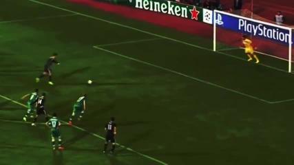 Пропуснатата дузпа на Роналдо срещу Лудогорец