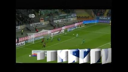 Айнтрахт и Гройтер Фюрт направиха 1:1 в първи мач от 10-ия кръг в Германия