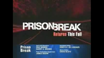 Prison Break - Season 3 Trailer