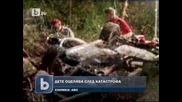 Дете оцеля, затиснато в катастрофирала кола до тялото на мъртвия си баща