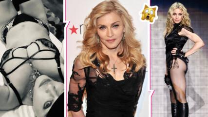 Разголена и скандална на 62: Мадона провокира със снимка по бельо