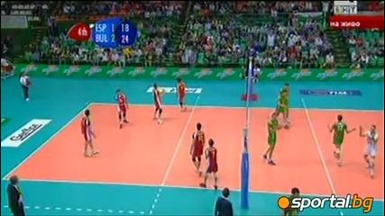 България - Испания 3:1 Волейбол