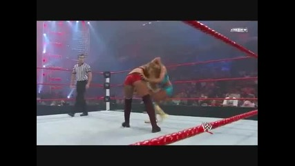 Eve Torres Snap Swing Neckbreaker To Maryse In Fatal 4 Way(best Snap Swing Neckbreaker)