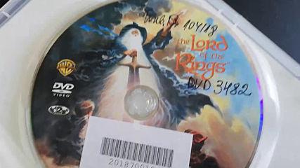 Българското Dvd издание на Властелинът на пръстените (1978) Prooptiki Bulgaria 2009
