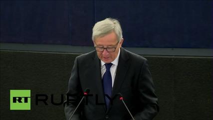 France: Juncker calls for reallocation of 160,000 refugees among EU member states