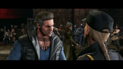 Mortal Kombat X- Official Cage Family Trailer