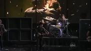 Green Day - 21 Guns - American Music Awards 2009