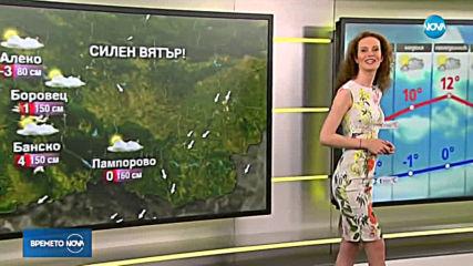 Прогноза за времето (16.02.2019 - сутрешна)
