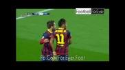 Барселона - Атлетико Мадрид 1:1, Неймар (71)