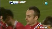 Фулъм - Манчестър Юнайтед 0:5 всички голове