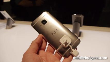HTC One M9 на мобилния конгрес в Барселона