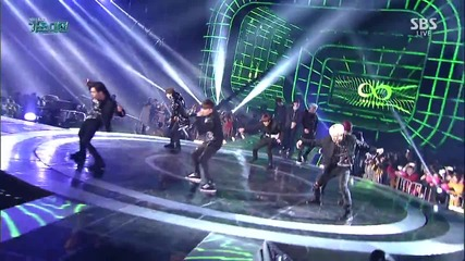 151227 Infinite - Bad (remix) @ Sbs Gayo Daejun