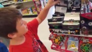 Oh Shiitake Mushrooms -kid Temper Tantrum Steals Van To Go Buy A Fidget Spinner At Toys R Us