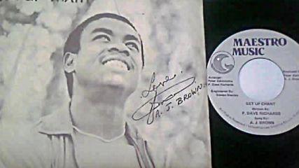 A J Brown - Get Up Chant-1980 reggae