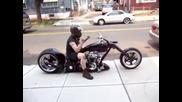 Мотор който сяда!