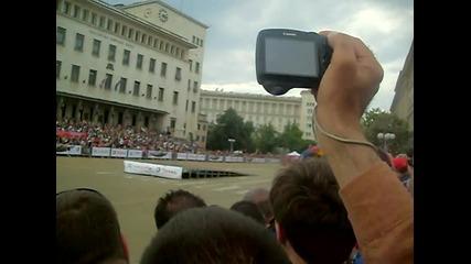 Себастиан Льоб в София 04.07.2010г. - първо излизане