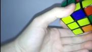 *bg* Нареждане на кубчето на Рубик 3x3x3 (за начинаещи) част 1
