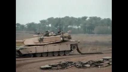 Tank vs mine