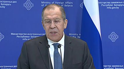 Belarus: Bribery and blackmail preceded OPCW budget vote - Lavrov
