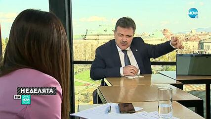 Симидчиев: Не знам дали има работещ Щаб