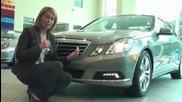 Емили ревю на Mercedes Benz e550 sedan