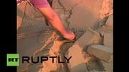 Творец на пясъчни фигури в помощ на пострадалите в Непал