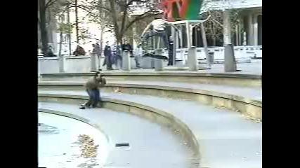 Historical skateboarding tricks Vol.1