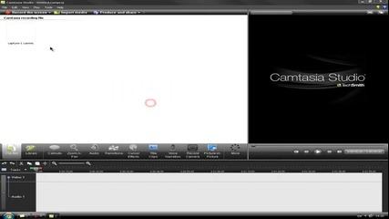 Как да си нагласите ефектите на мишката с Camtasia Studio 7