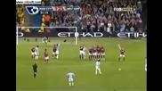 Мартин Петров Прекрасен Гол срещу West Ham !(hq)