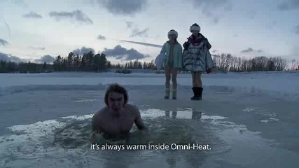 Якето , което топли много !
