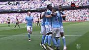 """""""Гражданинът"""" Агуеро откри срещу Арсенал"""