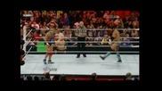 Santino Marella vs. Justin Gabriel - Wwe Raw 28.03.2011